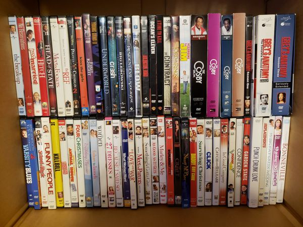 Set of DVD's - selling as a package
