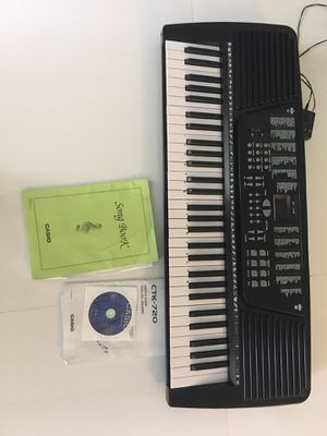 Casio portable keyboard for Sale in Fort Lauderdale, FL