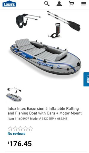 Intex Excursion 5 boat for Sale in St. Louis, MO
