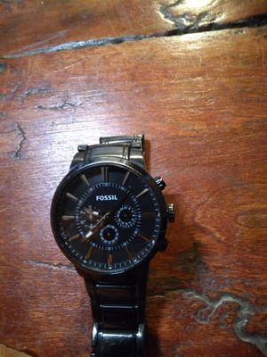 Fossil watch like new one owner for Sale in Conroe, TX