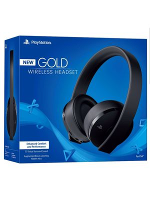 Sony Playstation4 ~ New Gold Wireless Headset – Black for Sale in Chelsea, MA