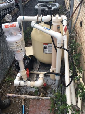 Sand filter and pump for Sale in San Antonio, TX