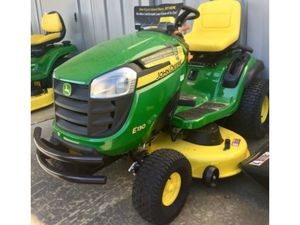John Deere Lawn Mower Garden tractor E130 22-HP V-twin Side By Side 42-in NOTAX for Sale in Boston, MA