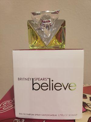 New Britney Spears Believe perfume 1.7 oz price is firm for Sale in Clovis, CA