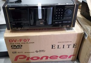 Pioneer Elite DV-F07 DVD/DVD Player. Its brand new. Turns on all works just doesn't grab the disc I'm sure it's something simple to fix or for parts for Sale in Miami Springs, FL