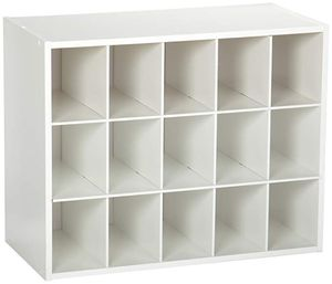 NEW Maid Closet New 8983 Stackable 15-Unit Organizer, White for Sale in Houston, TX