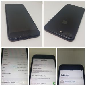 FACTORY UNLOCKED 128 GB IPHONE 7 PLUS ORIGINALLY WITH VERIZON IN GREAT CONDITION FOR 250$ FIRM. WILLING TO HELP ACTIVATE WITH ANY CARRIER. for Sale in Oklahoma City, OK