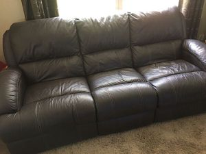 2 Sofas - Used - good condition - Dark brown for Sale in Jefferson Hills, PA