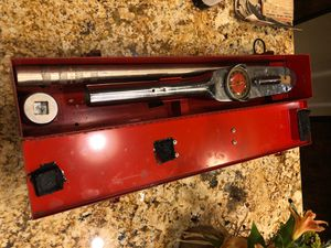 Snap-on 600lbs Torque Wrench for Sale in Lewisville, TX
