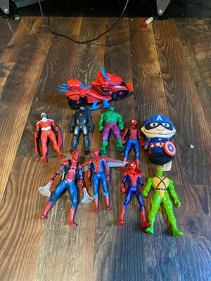 5 inch Spiderman avengers action figure lot for Sale in Lilburn, GA