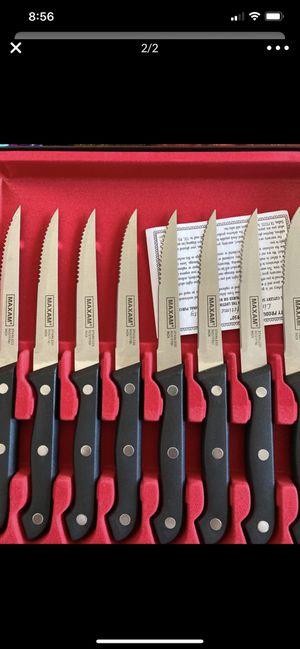Maxam Steak Knife Set for Sale in Victorville, CA