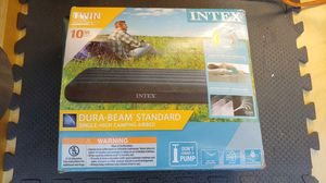 "Intex Twin Air Mattress 10"" Camping Airbed for Sale in Los Angeles, CA"