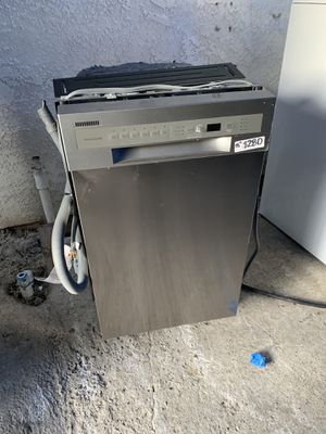 "FRIGIDAIRE STAINLESS 18"" DISHWASHER for Sale in Silverado, CA"