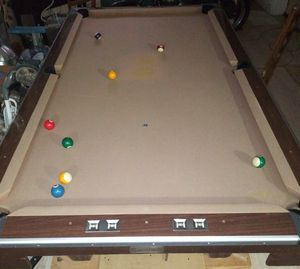 Brunswick 9ft pool table for sale OR trade for Sale in Haltom City, TX