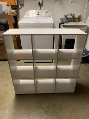9 cube bookcase for Sale in Pacifica, CA