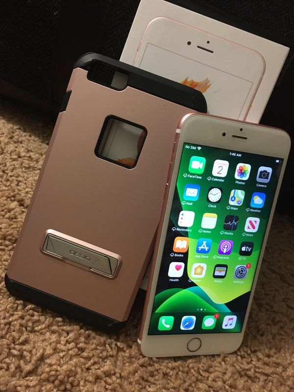 iPhone 6S PLUS CARRIER AND ICLOUD UNLOCKED