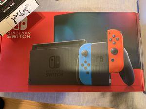 Brand New *in hand* Nintendo - Switch 32GB Console - Neon Red/Neon Blue Joy-Con V2 for Sale in Fresno, CA