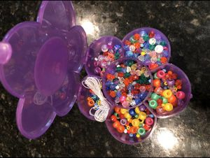 Hello kitty bead craft kit necklace bracelet for kids for Sale in Manteca, CA