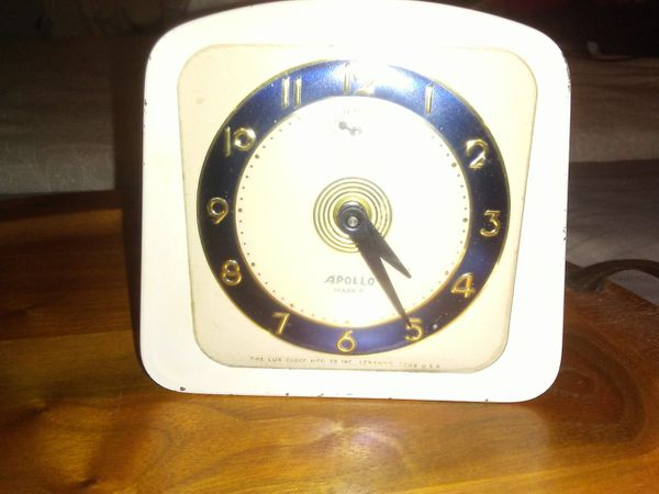 (2) Vintage Alarm Clocks