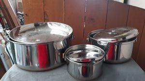 6 pcs. Copper pots for Sale in Auburn, WA