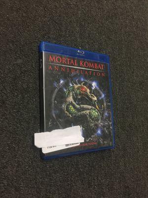 Mortal Kombat Annihilation blu Ray for Sale in Washington, DC