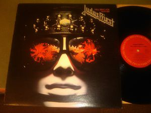 Judas Priest - Hell Bent For Leather (1978) 12 inch record album, excellent to V fine condition for Sale in Groveport, OH