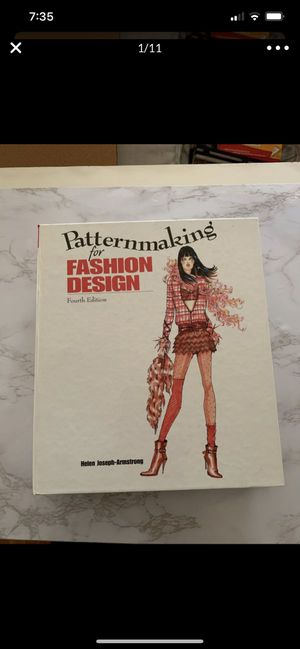 Pattern making for fashion design. Pattern book. In great condition. for Sale in Los Angeles, CA