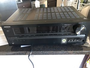 Onkyo TX NR535 5.1 Channel 330 Watt Receiver w/remote for Sale in Atlanta, GA