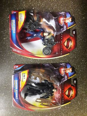 Man of Steel action figures for Sale in Chandler, AZ