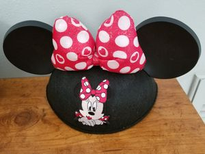 Disney Minnie Mouse Ears Hat Mint for Sale in Safety Harbor, FL