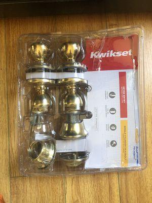 Kwikset keyed entry door handle for Sale in Fresno, CA