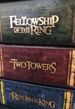 Lord of the Ring Trilogy Extended Edition for Sale in Los Angeles, CA
