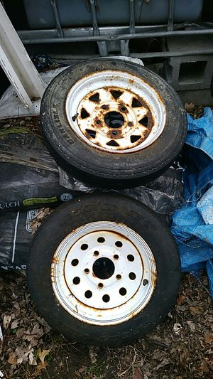 Trailer wheels for Sale in Marion, OH