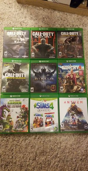 Xbox One Game Bundle for Sale in INVER GROVE, MN