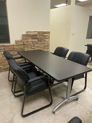 Office Closing_ tables and chairs for Sale in Chandler, AZ