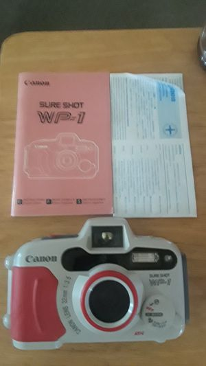 Canon waterproof camera WP1 for Sale in Pittsburgh, PA