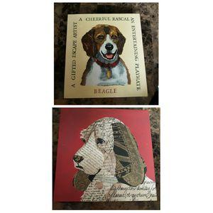 🌿🐕2pc Canvas Artwork 🐕🌿 for Sale in Las Vegas, NV