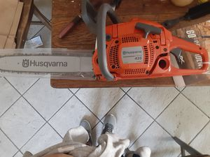 Chainsaw husqvarna brand new never been used for Sale in Tracy, CA