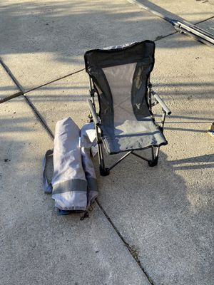 Small folding/locking kids chairs. 2 of them. Outdoor with bag. for Sale in Wexford, PA