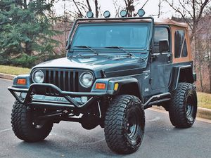 Well maintained🍀2OOO Jeep Wrangler TJ Lifted🍀-One Owner-$1OOO for Sale in Washington, DC