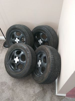 """Mazda tires and rims 14"""" good condition for Sale in Salt Lake City, UT"""