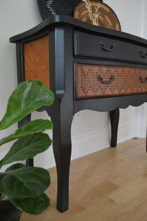 Refinished console table or small buffet for Sale in Stamford, CT