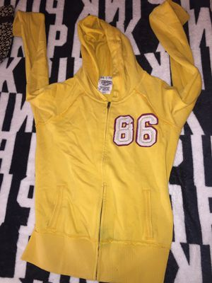 VS PINK Yellow Hoodie for Sale in Hyattsville, MD