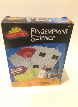 Finger print science toy for Sale in Henrico, VA