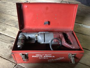 Milwaukee right angle drill for Sale in Auburn, NH