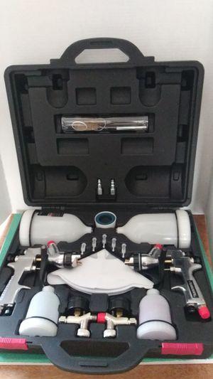 Husky gravity feed hvlp spray gun kit, 23 pieces for Sale in Milton, FL
