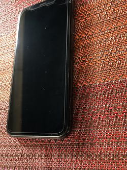 Iphone X Black 64gb for Sale in Portland,  OR