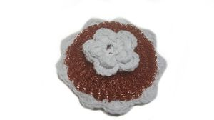 Jumbo Copper Plated Mesh Kitchen Scourer-Handmade Crocheted for Sale in East Hartford, CT