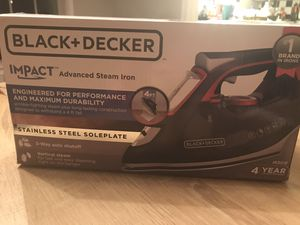 Advanced steam iron for Sale in Fairfax, VA