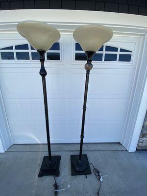 2 Floor Lamps for Sale in HUNTINGTN BCH, CA